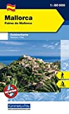 Mallorca, Palma de Mallorca Outdoorkarte 1 : 80.000: Illa de Cabrera. Wanderwege, Radwanderwege, Nordic Walking (Kümmerly+Frey Outdoorkarte International) - Kümmerly + Frey