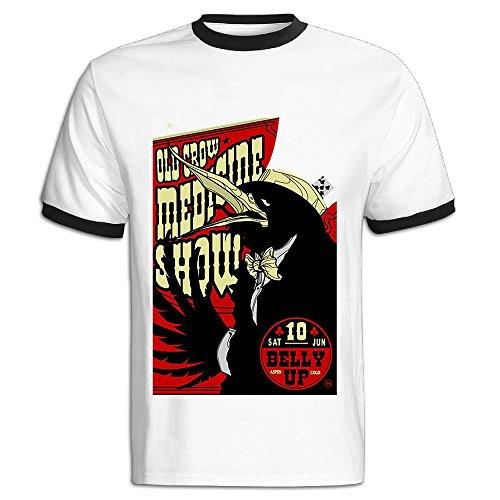 alonk-mens-old-crow-medicine-show-album-logo-cotton-t-shirt-xxl-black