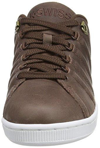 K-Swiss Lozan Iii, Sneakers Basses Homme Marron (Chestnut/White 283)