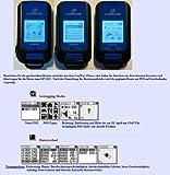 Neuste Version G-PORTER GP-102+ (Blau) GPS Positionsanzeiger Positionsmarker Positionsfinder Datenlogger GPS Routenplaner GPS Fototagger GPS Trainingsanzeiger GPS Positionsguider GPS Synchronisierte Uhr GPS Höhenanzeiger GPS Tacho Digitaler Kompass Schrittzähler Wetterstation Wasserwage Handgerät Geräte Tracker Outdoor Geochaching Geotag Wandern - 5