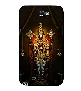 Lord Balaji 3D Hard Polycarbonate Designer Back Case Cover for Samsung Galaxy Note i9220 :: Samsung Galaxy Note 1 N7000