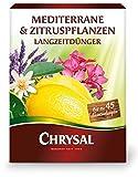 Chrysal Mediterrane & Zitruspflanzen Langzeit-Dünger, NPK-Dünger 15+6+14 (+2+9), 900 g