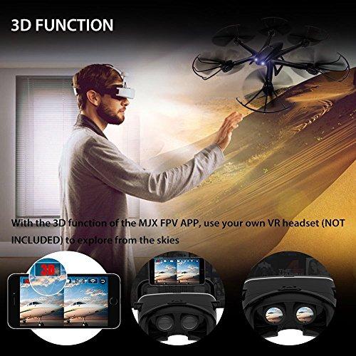 Live Video FPV Drohne mit Kamera MJX X600 Drone Quadcopter Throttle Limit Ein Key rückwärts VR Kompatibel - 5