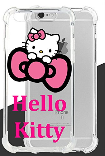 Hello Kitty ultraklar Fall Lassen und stoßfest für Apple iPhone 6Plus & iPhone 6S Plus-Retail Verpackung, TPUZKT4 (Hello Kitty Iphone 6 Plus Fall)