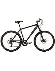 KS Cycling Fahrrad Mountainbike Hardtail MTB 27.5 zoll Heist RH 46 cm, Schwarz, 557M