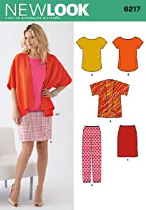 New Look Sewing Pattern 6217 - Misses' Separates Sizes: A (10-12-14-16-18-20-22)