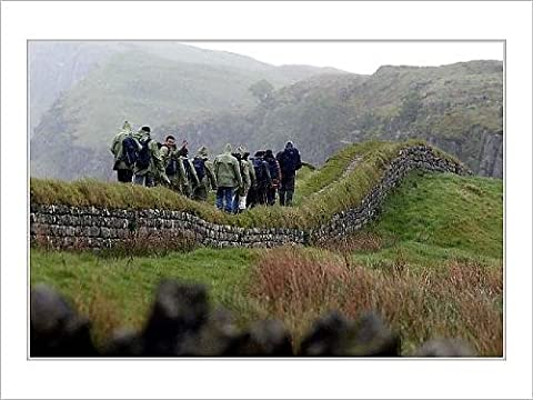 Mounted Prints of Hadrian s Wall footpath
