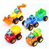 #3: Toyshine Sunshine Unbreakable Automobile Car Toy Set