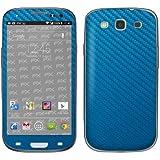 Designfolien atFoliX FX Skin pour Samsung Galaxy S3 Mini GT-I9300 Bleu