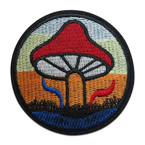 Finally Home Pilz Bügelbild Patch zum Aufbügeln | Patches, Aufbügelmotive (Hippie Stoner Kostüm)