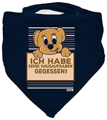 Karte Dunkle Kostüm - HARIZ Baby Halstuch Hund Hausaufgaben Gefressen Tiere Kindergarten Inkl. Geschenk Karte Matrosen Dunkel Blau