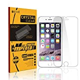 iPhone 6S Screen Protector,elove Apple iPhone 6 Crystal Clear 9HD Tempered Glass screen protector Anti-scratch/Bubble proof/shock proof with Oleophobic Coating Screen Guard for Apple iPhone 6S/iPhone 6
