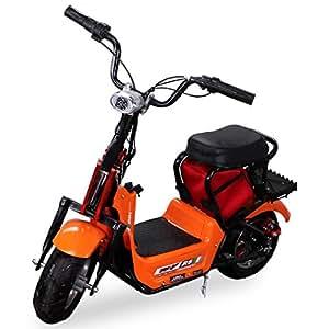 neu kinder mini e bike minibike elektro scooter 350 watt. Black Bedroom Furniture Sets. Home Design Ideas