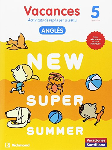 NEW SUPER SUMMER SB 5 + AUDIO 5 CATALAN - 9788466823074