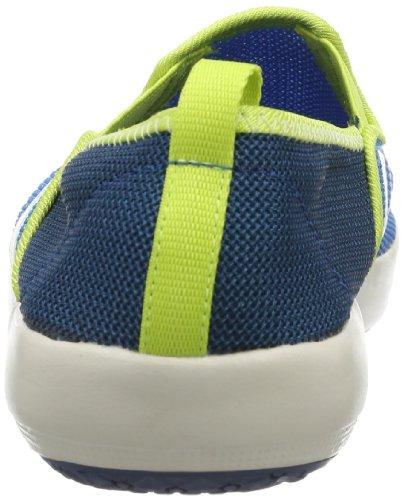 adidas Performance Boat K D66741 Unisex-Kinder Slipper Blau (SOLAR BLUE2 S14 / CHALK 2 / BAHIA GLOW S14)