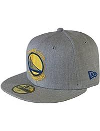 New Era Baseball Cap 59FIFTY Golden State Warriors NBA Heather Fitted graphite