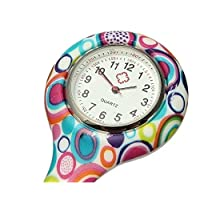 Casadeiy Color silica gel medical special watch for nurse