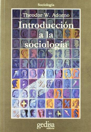 Introducción a la sociología (Cla-De-Ma) por Theodor W. Adorno