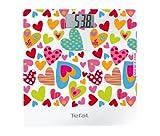 Tefal Classic Love (Agatha Ruiz de la Prada) - Báscula de baño, pantalla digital extra grande, peso máximo 160 kg, graduación 100 gr