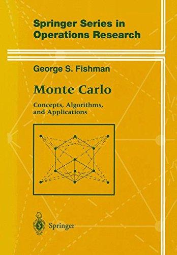 Monte Carlo. : Concepts, Algorithms and Applications par George Fishman