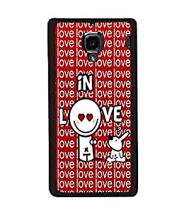printtech In Love Back Case Cover for Xiaomi Redmi 1S , Xiaomi Redmi (1st Gen)