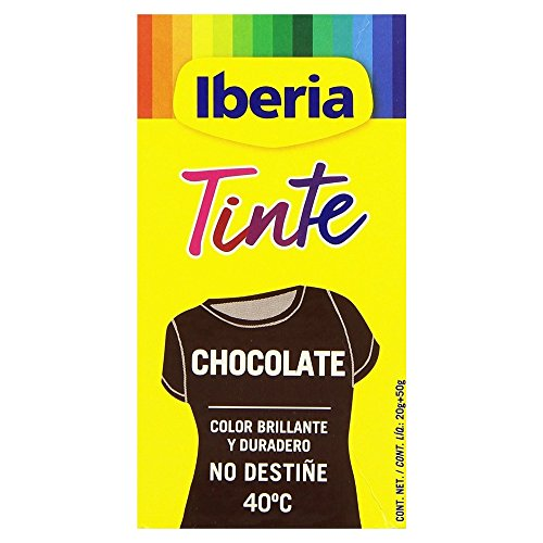 TINTE ROPA IBERIA -CHOCOLATE