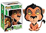 Funko - Bobugt103 - Figurine Animation - Le Roi Lion - Bobble Head Pop 89 Scar