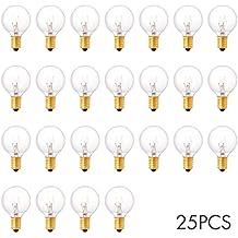 Sunix® Bombillas, luz Blanco cálido, casquillo E14, 7W, 220V, G40