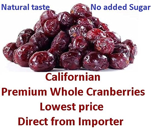 Karrotz - Premium Whole Dried Cranberries, 500g