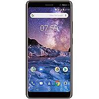 Nokia 7 Plus Smartphone débloqué LTE (Ecran : 6 pouces - 64 Go - Double Nano-SIM - Android) Noir