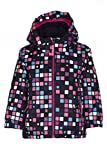 Killtec Kinder Cony Allover Mini Outdoorjacke, Neon Pink, 98/104