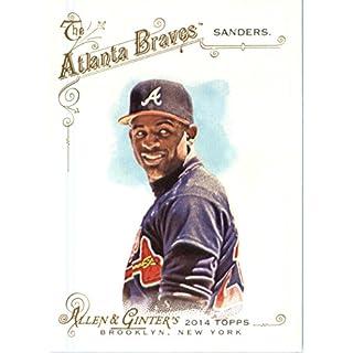 Allen & Ginter 2014 Topps Baseball Card # 298 Deion Sanders, Atlanta Braves