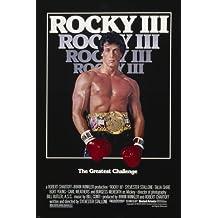 Póster de la película ROCKY III sylvester stallone premio deportes de los músculos 24X36