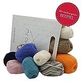 Wolle Set günstig 50% REDUZIERT* Überraschungstüte Baby Wolle 500g* Wolle Set mit Babywolle von Schachenmayr in unterschiedlichen Farben. Anleitungsheft GRATIS* 50% REDUZIERTE Wolle