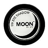Moon Glow - UV Neon-UV-Lidschatten 3.5g Weiß – ein spektakulär glühender Effekt bei UV- und Schwarzlicht!