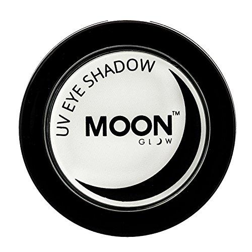 Moon Glow - UV Neon-UV-Lidschatten 3.5g Weiß – ein spektakulär glühender Effekt bei UV- und...