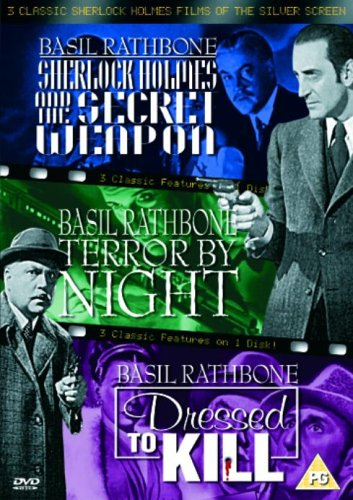 The Secret Weapon / Terror By Night / Dressed To Kill