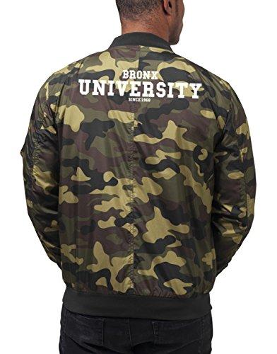 Bronx University Bomberjacke Camouflage Certified Freak-XL