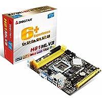 Biostar H81MLV3scheda madre Socket (H81, S1150, DDR3,