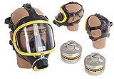 Panorama Nova Standard RA Dräger Schutzmaske 2 Filtern