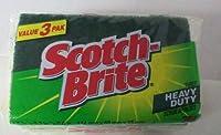 Scotch Brite Heavy Duty Scrub Sponges -3 Pcs Set