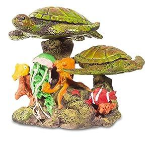 Katerina Prestige-Figura Tortugas de mar Sobre Coral, me0964