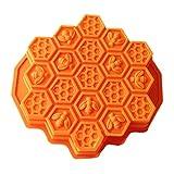 nicebuty Honeycomb Kuchen Formen für Kinder 17-hole Silikon Backform Kuchen Form Bakeware