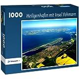 Heiligenhafen mit Insel Fehmarn - Puzzle 1000 Teile mit Bild von oben
