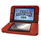 HDE Silikon Rubber Gel Soft Haut Schutzhülle für Nintendo 3DS XL/LL [Nintendo 3DS] rot