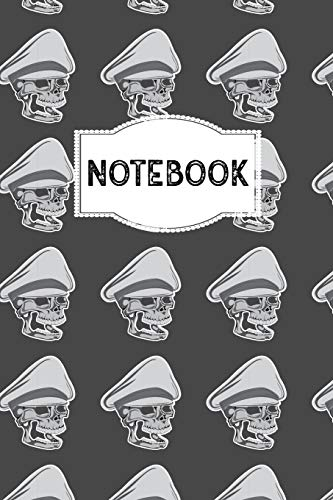 Notebook: 110 Dotted Pages | 6 x 9 Inches | Dot Grid Notebook, Journal or Dairy | Birthday or Christmas Gift Idea for Women, Men and Kids