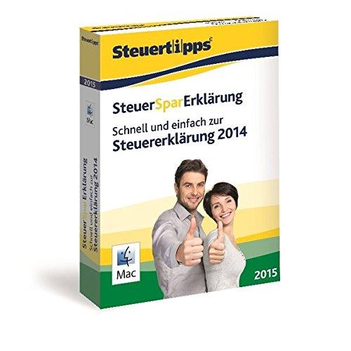 SteuerSparErklärung 2015, Mac-Version (für Steuerjahr 2014 / Frustfreie Verpackung)