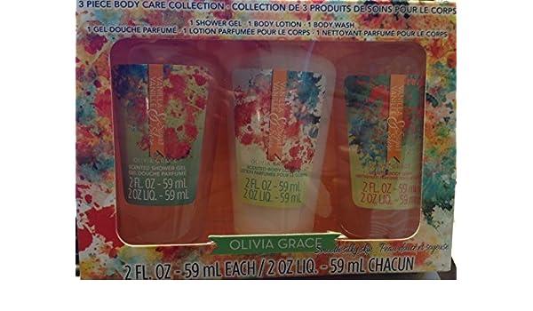 689215fffb5238 Olivia grace Smooth Silky Skin Vanilla Body Care Collection Gift Set by  Oliva Grace: Amazon.co.uk: Beauty