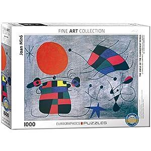 """Eurographics """"Joan Miró Le Sourire aux Ailes Flamboyantes Puzzle (1000 Piezas"""