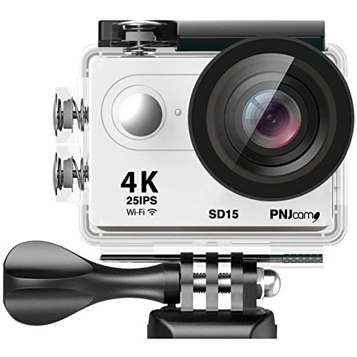 PNJ SD15Kamera Sport-UHD 4K 25ips–Full HD 60ips–Sensor CMOS 12MP–WiFi